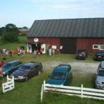 2009 - gården är fullparkerad