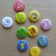 10 olika button för Öland