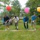 sommarfest med olika tävlingar