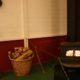 2010 - installerades braskaminen i caférummet