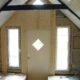 en ny dörr och nya fönster