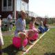 hoppbolltävling för alla under sommarfesten