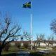 vi är stolta att få visa flaggan