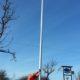 en av Kex önskemål sedan länge: en flaggstång