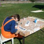 2008 - medan Kex bygger, målar Ann