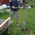 2008 - att bygga staket